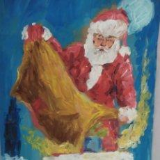 Arte: PAPA NOEL (ORIGINAL). Lote 234504100