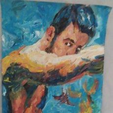 Arte: HOMBRE (ORIGINAL). Lote 234510730