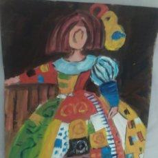 Arte: MENINAS (ORIGINAL). Lote 234560035