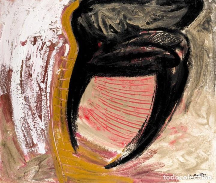 ÓLEO S/LIENZO DE ANTONIO VILLA-TORO 1989. PINTOR DE LA MOVIDA MADRILEÑA AÑOS 80. DIM.- 100X85 CMS. (Arte - Pintura - Pintura al Óleo Contemporánea )