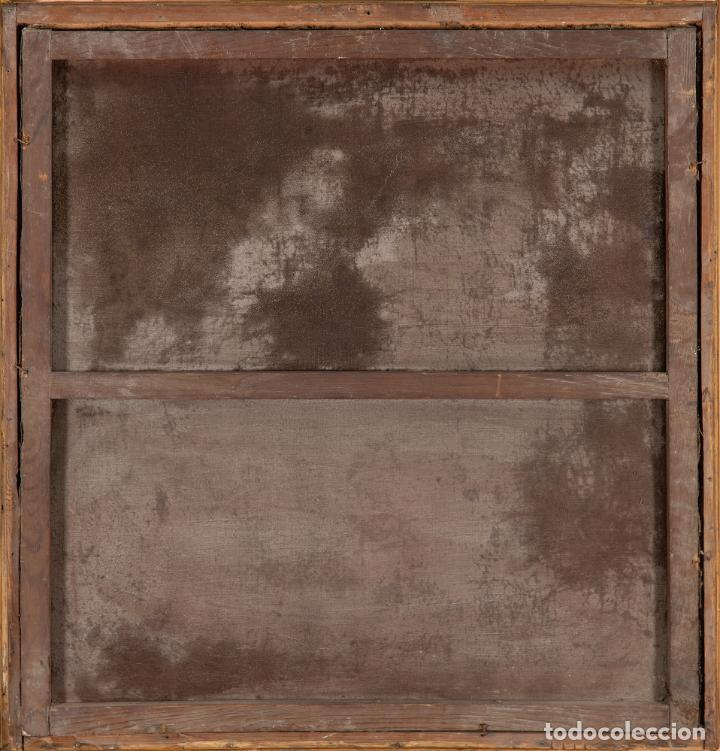 Arte: Óleo lienzo La Huida a Egipto Escuela Andaluza siglo XVII - Foto 5 - 234771055