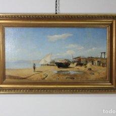 Arte: OLEO MARIANA DEDICADA VALENCIANA. Lote 224610827