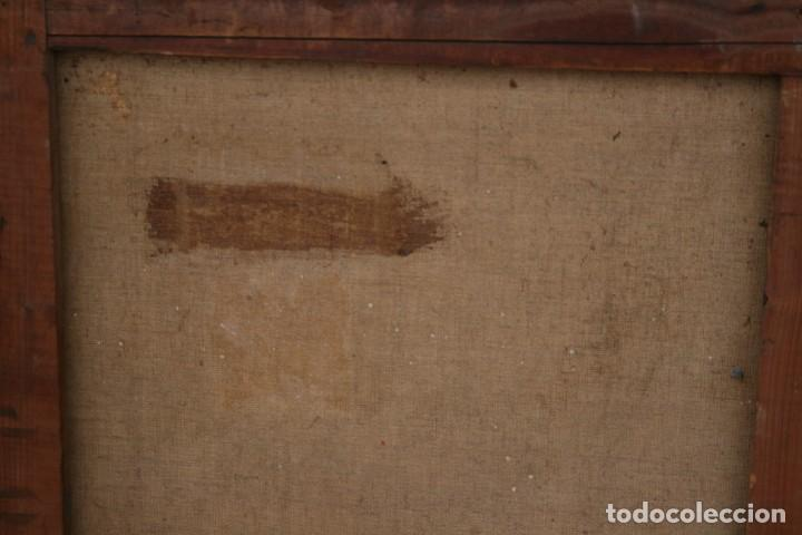 Arte: OLEO SOBRE TELA, TAURINO - CORRIDA DE TOROS, ILEGIBLE. - Foto 5 - 234911150