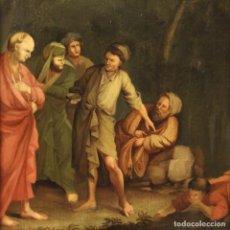 Arte: PINTURA ITALIANA ANTIGUA ÓLEO SOBRE LIENZO DEL SIGLO XVII. Lote 234911945