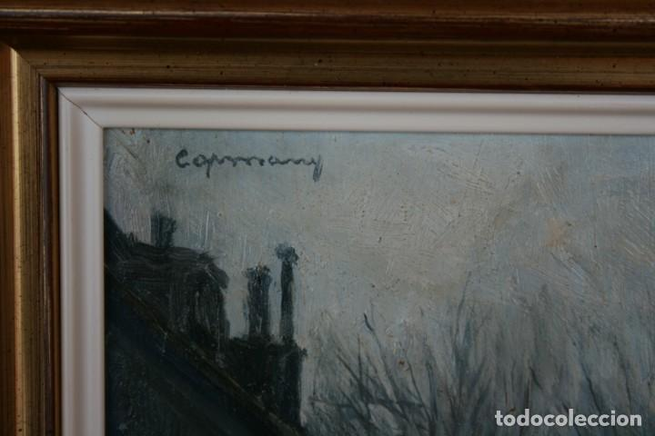 Arte: RAMÓN DE CAPMANY Y MONTANER (1899 - 1992) EXCELENTE OLEO SOBRE TABLA. DE SU MEJOR EPOCA - Foto 3 - 234915090
