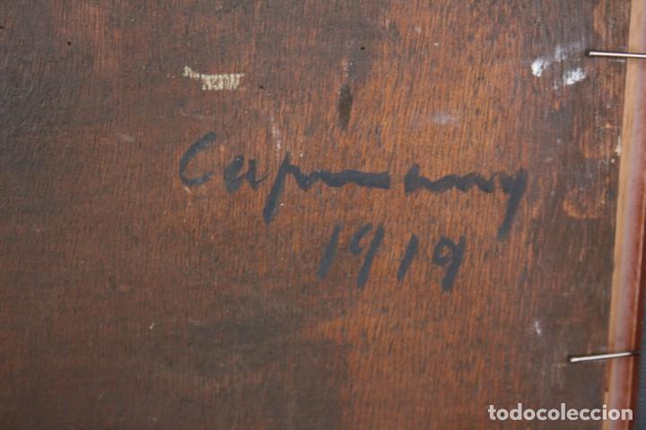 Arte: RAMÓN DE CAPMANY Y MONTANER (1899 - 1992) EXCELENTE OLEO SOBRE TABLA. DE SU MEJOR EPOCA - Foto 6 - 234915090