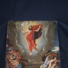 Arte: OLEO SOBRE COBRE, MAGNIFICA ESCENA DE JESUS,S. XVIII, OPORTUNIDAD. Lote 234924130