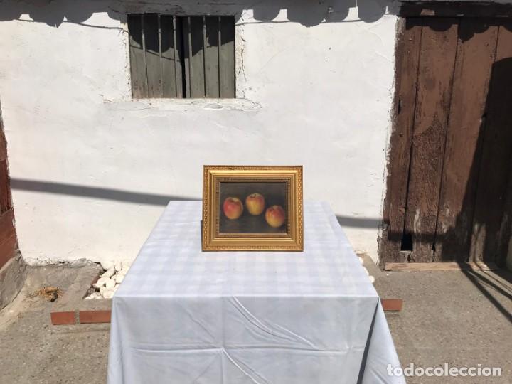 Arte: BODEGON DE OLEO SOBRE CARTON ENTELADO FIRMADO POR A. BOSCH - Foto 8 - 235200065
