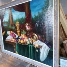 Arte: PINTURA EN TABLA BODEGON. Lote 235224580
