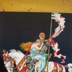 Arte: OLEO SOBRE METAL ,FIRMA ILEGIBLE. Lote 235460005