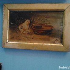 Arte: PINTURA AL ÓLEO SOBRE TABLA.. Lote 235522790