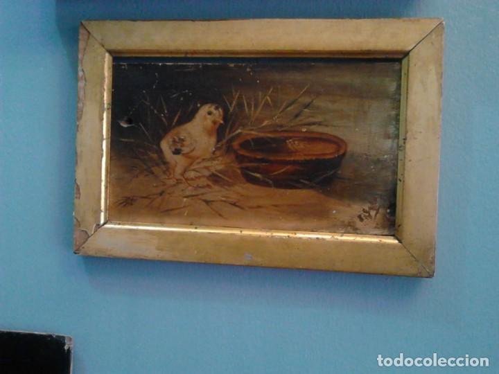 Arte: Pintura al óleo sobre tabla. - Foto 2 - 235522790