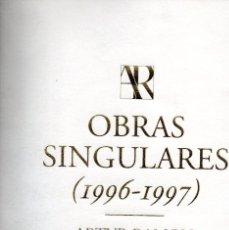 Arte: OBRAS SINGULARES 1996-1997- ARTUR RAMON ART. Lote 235534325