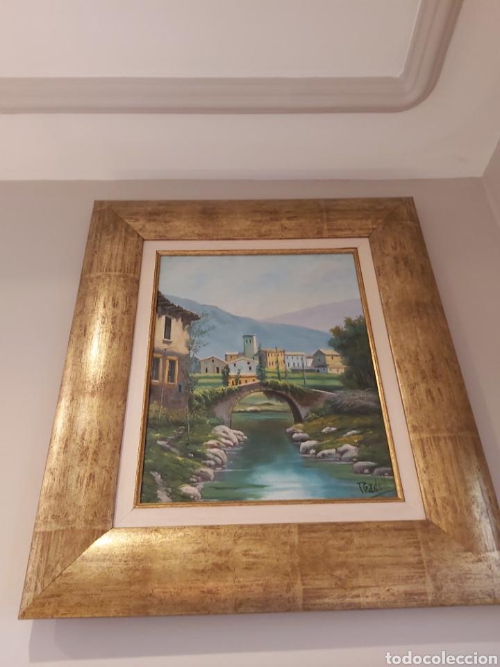Arte: Pareja de oleos con Marco. 56x 64cm del Pintor Pradells. - Foto 2 - 235538020