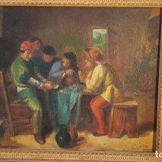 Arte: PINTURA AL OLEO SOBRE LIENZO FIRMADA A. BLASCO. Lote 235544860