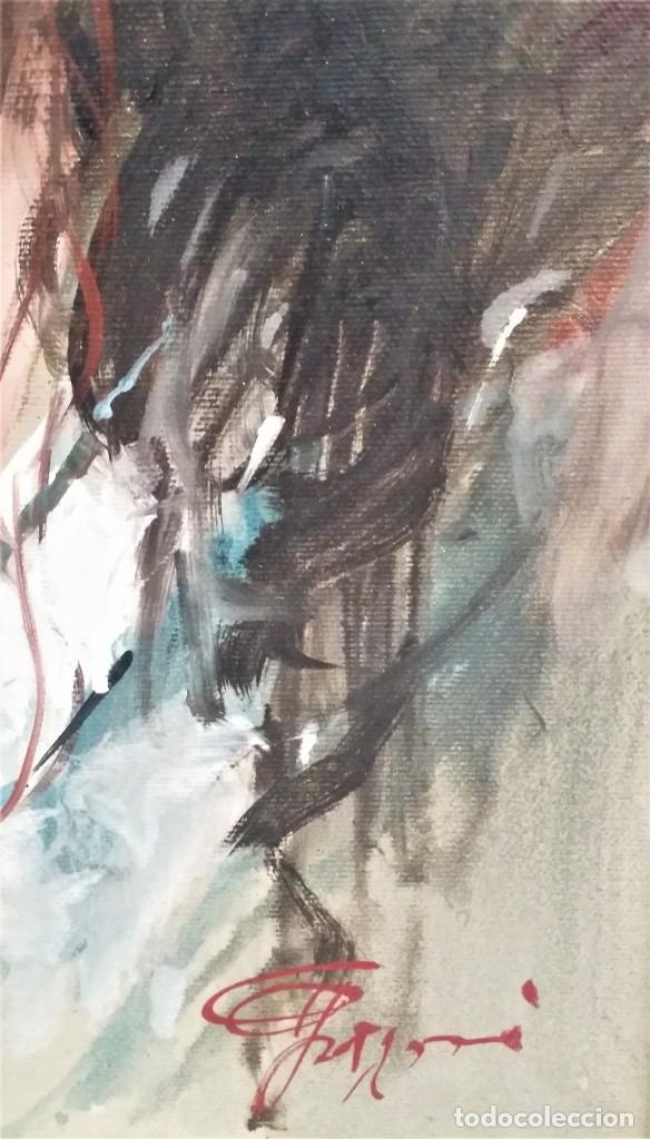 Arte: Precioso retrato de joven morena- Óleo sobre lienzo, lujosamente enmarcado - Envío gratis Península - Foto 12 - 235580620