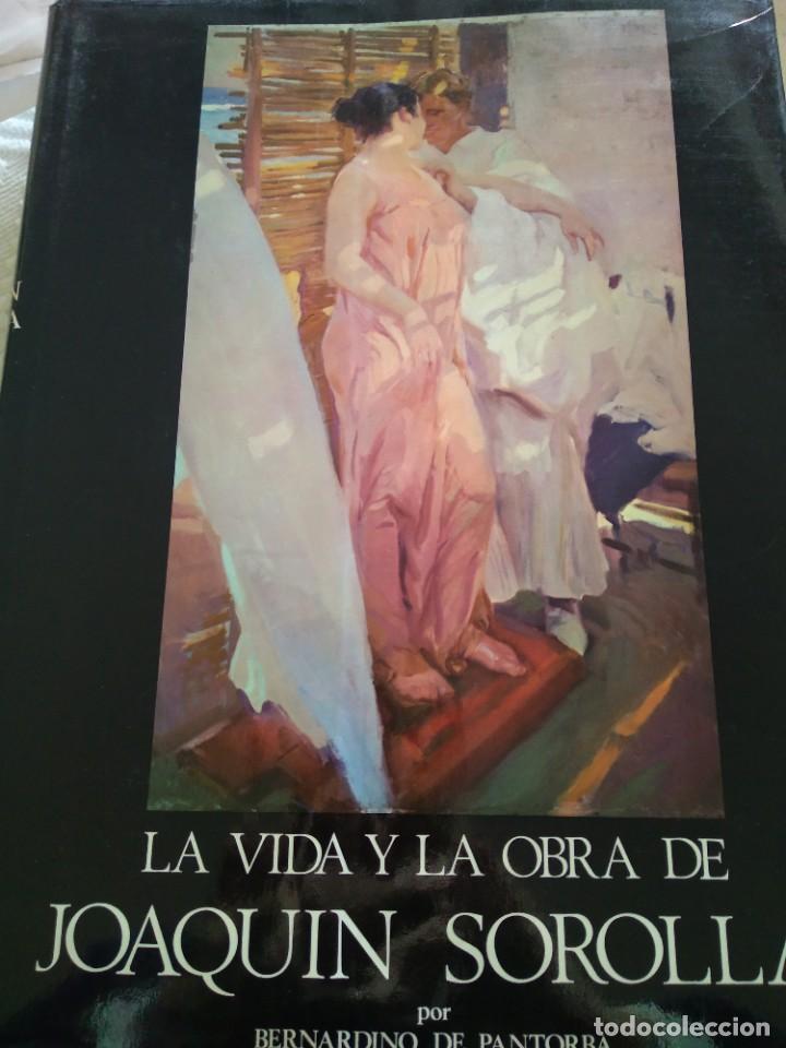 PINTURA VIDA Y OBRA PINTOR JOAQUÍN SOROLLA 1970 (Arte - Pintura - Pintura al Óleo Contemporánea )