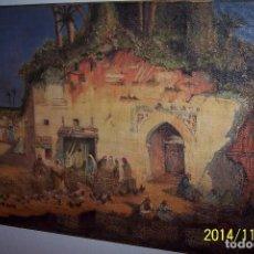 Arte: MARROQUIES EN GODELLA VALENCIA DE J..NAVARRO.-. Lote 235792595