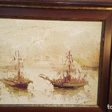 Arte: PINTURA AL OLEO SOBRE LIENZO FIRMADA,ANTONIO SEGRELLES. Lote 235863225