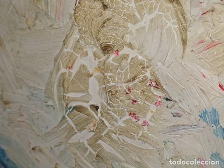 Arte: PAISAJE. FIRMADO. JOAN ABELLÓ. ÓLEO SOBRE TABLEX ENTELADO. ESPAÑA. 1960 - Foto 6 - 235964400