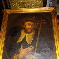 Arte: OLEO SOBRE TELA DEL SIGLO XVII - S.TOMAS DE AQUINO - ESCUELA TENEBRISTA - EXCEPCIONAL.. Lote 235983525
