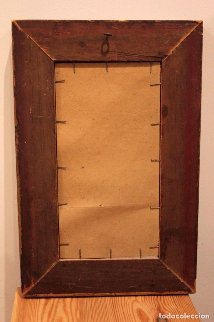 Arte: Atribuido a Horacio Lengo (s.XIX) - La cuerda sensible. 38x25cm(enmarcado) - Foto 13 - 236020110