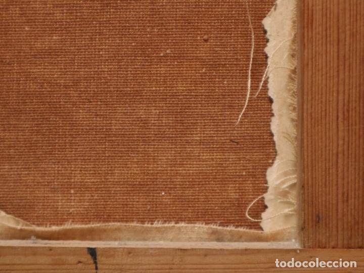 Arte: Paisaje de pastor con sus ovejas. Eduart Pail (Francia 1851 - 1916). Ó/lienzo. Med: 72 x 51 cm. - Foto 23 - 236050310