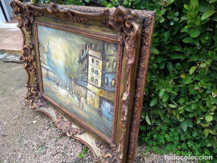 Arte: Preciosa pintura con marco baroco oro fino - Foto 2 - 236151395