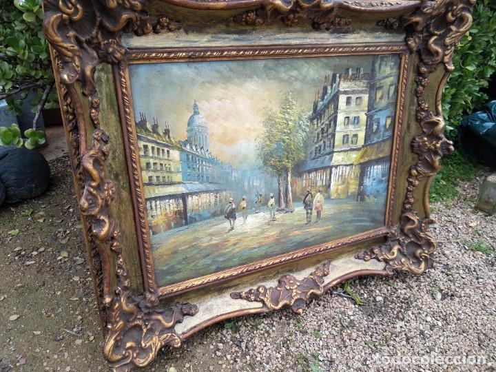 Arte: Preciosa pintura con marco baroco oro fino - Foto 3 - 236151395
