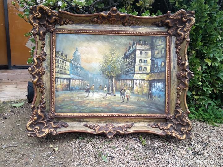 Arte: Preciosa pintura con marco baroco oro fino - Foto 4 - 236151395