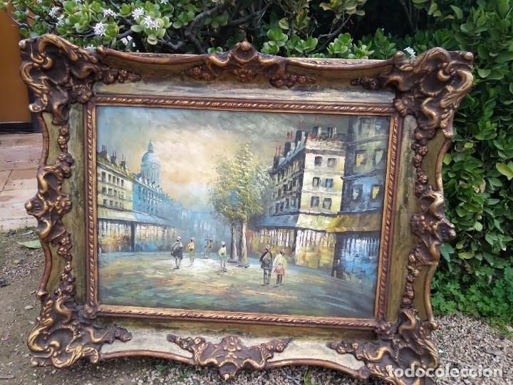 Arte: Preciosa pintura con marco baroco oro fino - Foto 6 - 236151395