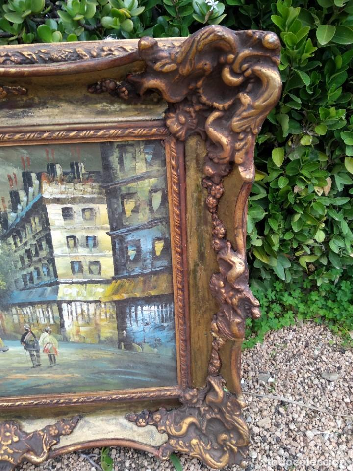 Arte: Preciosa pintura con marco baroco oro fino - Foto 7 - 236151395