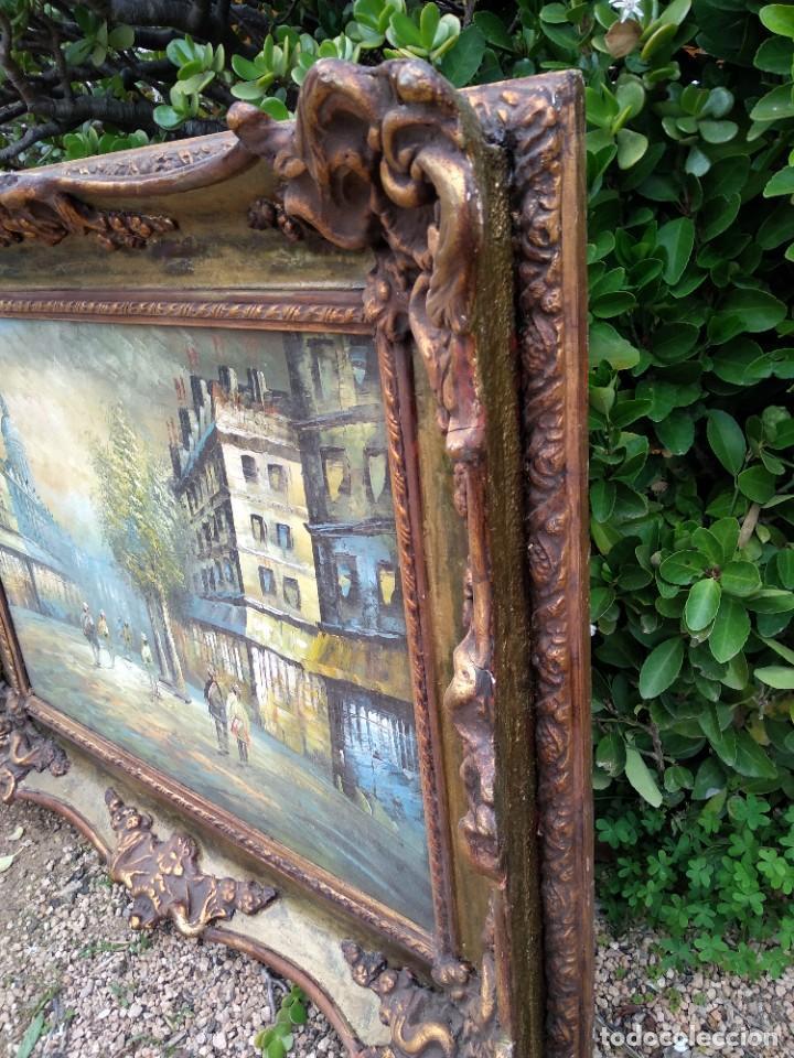 Arte: Preciosa pintura con marco baroco oro fino - Foto 8 - 236151395