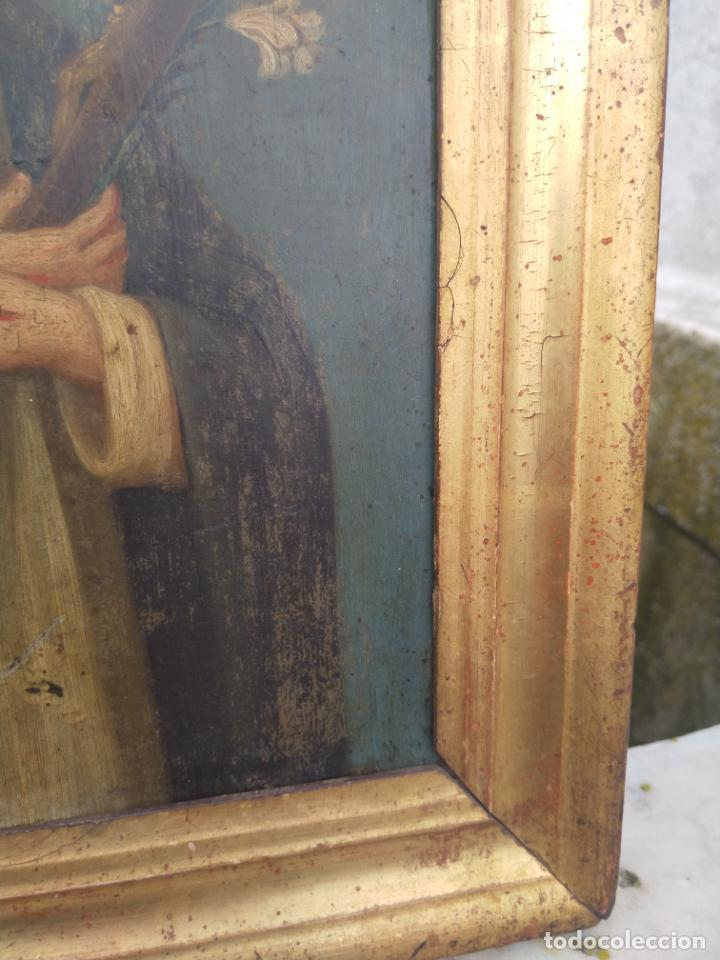 Arte: Antiguo óleo sobre cobre imagen de Santa Catalina de Siena - Foto 22 - 27394754