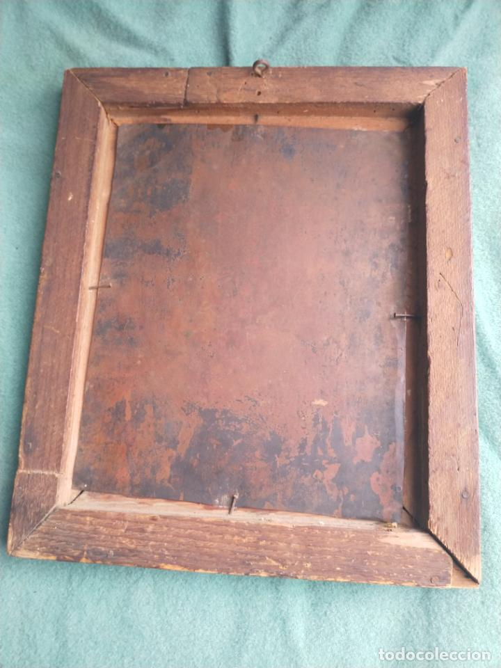 Arte: Antiguo óleo sobre cobre imagen de Santa Catalina de Siena - Foto 23 - 27394754