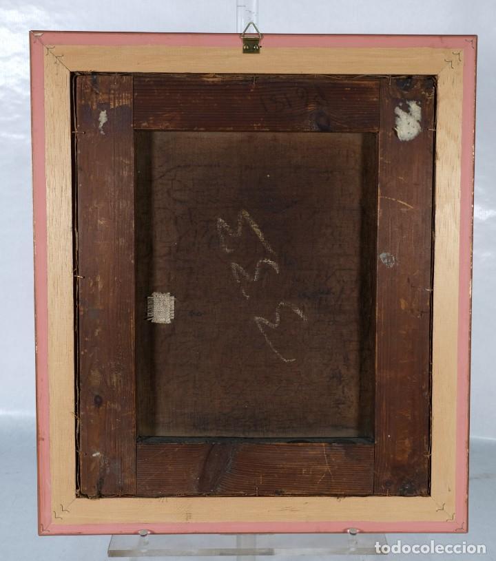 Arte: Óleo sobre lienzo Retrato niño siglo XIX - Foto 6 - 236238335