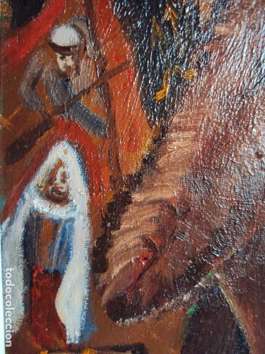 Arte: (PINT-210100)OLEO SOBRE LIENZO DEL GENERALISIMO FRANCISCO FRANCO-CAS FRAGUAS-PINTOR DE LOS ENCANTS - Foto 8 - 236313540