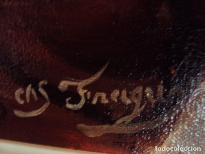 Arte: (PINT-210100)OLEO SOBRE LIENZO DEL GENERALISIMO FRANCISCO FRANCO-CAS FRAGUAS-PINTOR DE LOS ENCANTS - Foto 12 - 236313540