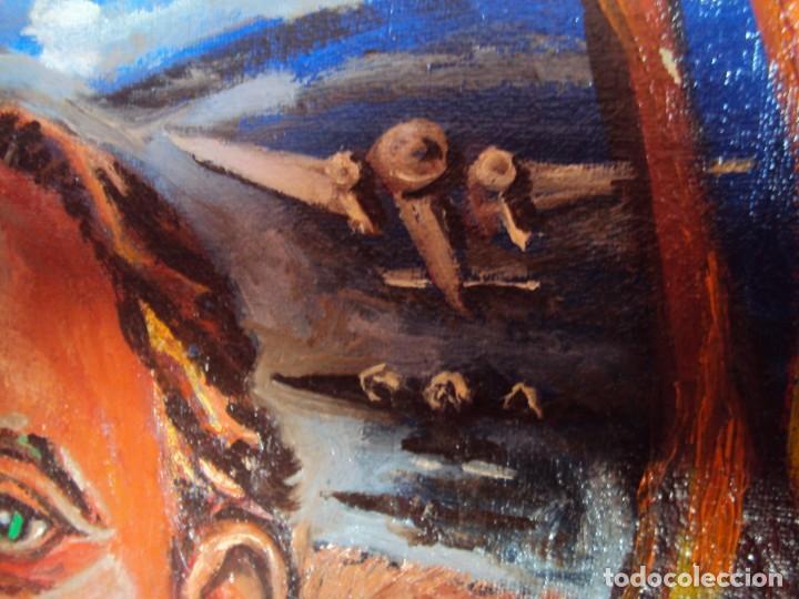 Arte: (PINT-210100)OLEO SOBRE LIENZO DEL GENERALISIMO FRANCISCO FRANCO-CAS FRAGUAS-PINTOR DE LOS ENCANTS - Foto 13 - 236313540