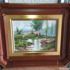 Arte: PRECIOSAS OBRAS DE ARTE FIRMADAS.. Lote 236339210