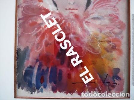 Arte: PINTURA ACARELA CON MARCO Y CRISTAL - MASCARAS VENECIA - JOSEP MARFA GUARRO - DE -BCN - - Foto 4 - 236624795