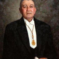 Arte: JOAN MIRALLES LLADO (MURO, 1912 - DEIÀ, 2010) OLEO TELA. AÑO 1949. PERSONAJE ILUSTRE MALLORQUIN. Lote 236666650