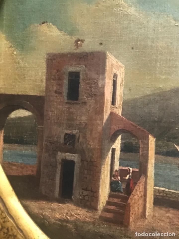 Arte: OLEO SOBRE LIENZO ESCUELA ITALIANA, MARINA. SIGLO XVIII - Foto 5 - 236671815