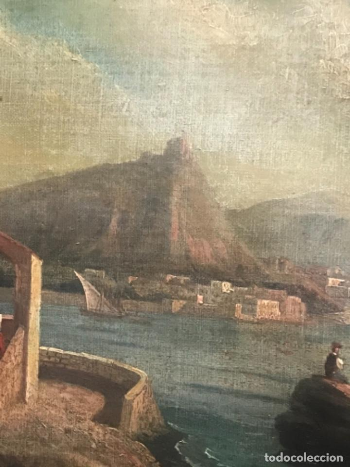 Arte: OLEO SOBRE LIENZO ESCUELA ITALIANA, MARINA. SIGLO XVIII - Foto 6 - 236671815