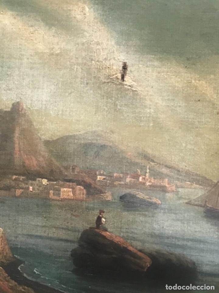 Arte: OLEO SOBRE LIENZO ESCUELA ITALIANA, MARINA. SIGLO XVIII - Foto 7 - 236671815