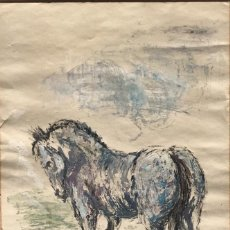 Arte: RODOLFO TUR TECNICA MIXTA 1960'S.. Lote 236694490