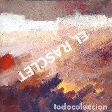 Arte: PINTURA OLEO SOBRE TELA - ABSTRACTO - JOSEP MARFA GUARRO - DE -BCN -1990 -. Lote 236774260