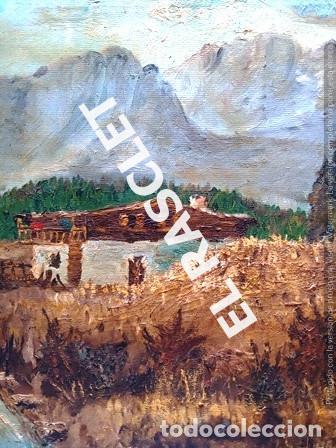 Arte: PINTURA OLEO SOBRE TELA DE JORDI VALLEJO - CASA EN EL CAMPO - AÑO 1979- - Foto 5 - 236780690