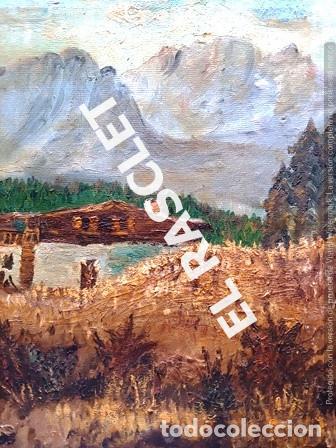 Arte: PINTURA OLEO SOBRE TELA DE JORDI VALLEJO - CASA EN EL CAMPO - AÑO 1979- - Foto 6 - 236780690