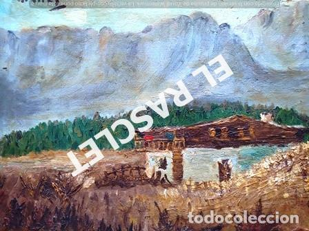 Arte: PINTURA OLEO SOBRE TELA DE JORDI VALLEJO - CASA EN EL CAMPO - AÑO 1979- - Foto 8 - 236780690